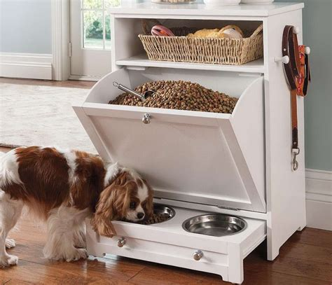 dog cabinet dog food storage cabinet manicinthecity