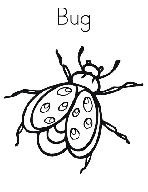 bed bugs color free coloring pages of insects for kids