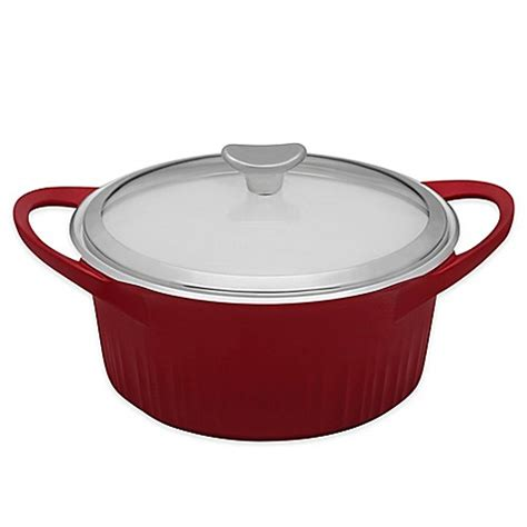 dutch oven bed bath and beyond corningware 174 covered dutch oven bed bath beyond