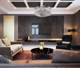 luxury living room design idea feat awesome big flat tv