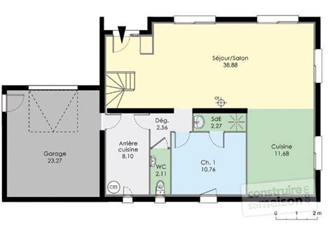 plan maison une chambre maison moderne de quatre chambres d 233 du plan de