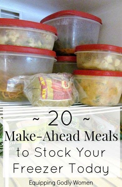 freeze your meals the freezer cookbook busy need books 17 best images about meal planning on weekly
