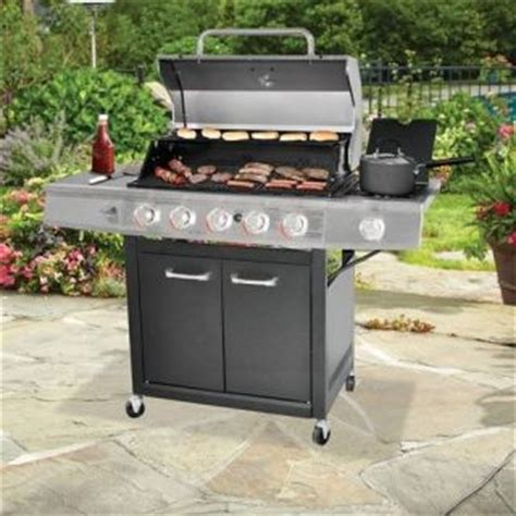 Backyard Grill 5 Burner Propane Gas Grill Barbecues Patio Backyard Grill 5 Burner