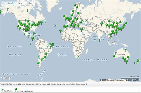 wind farms in map global wind energy
