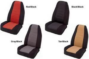 Jeep Yj Seat Covers Smittybilt Jeep Wrangler Neoprene Seat Covers