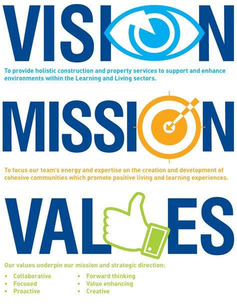what is a vision and a mission mission and vision quotes quotesgram