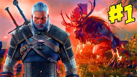 The Witcher 3 Hunt Gameplay Ps4 Part 1 Witcher 3