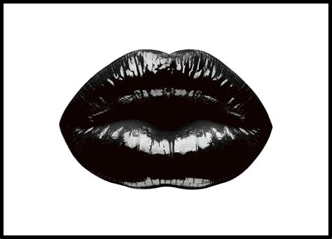 Bedroom Decor Online Shopping by Poster With Black Lips Stylish Modern Prints