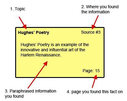How To Make Notecards For A Research Paper - the world s catalog of ideas