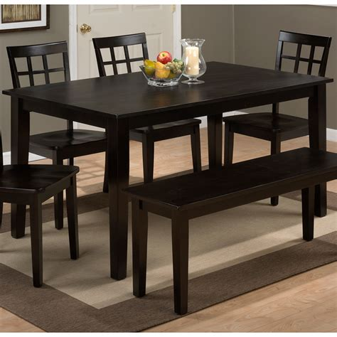 dining table espresso jofran 552 28 simplicity espresso drop leaf table