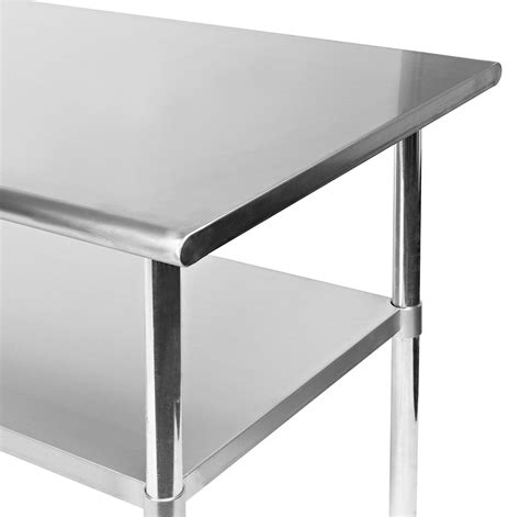 Industrial Kitchen Table Stainless Steel Stainless Steel Commercial Kitchen Work Food Prep Table 24 Quot X 30 Quot Ebay