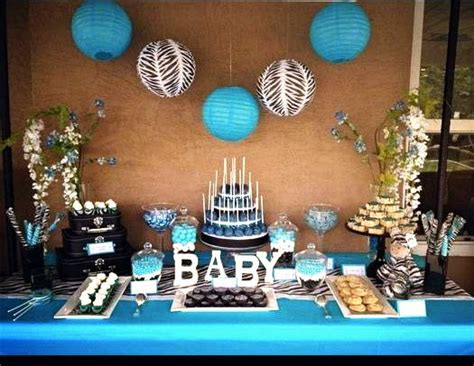 baby boy dessert table boy baby shower dessert table display baby showers