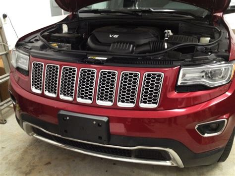 2014 Jeep Grill How To Install Grill Inserts In A 2014 Jeep Grand
