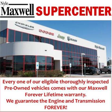 nyle maxwell dodge nyle maxwell chrysler dodge jeep ram supercenter in