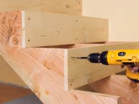 Installing Wooden Stairs by How To Install Basement Stairs How Tos Diy