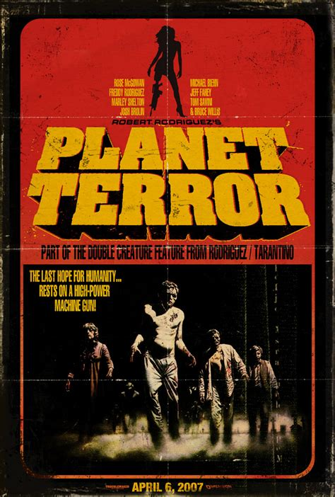 quentin tarantino film zombie those moving pictures planet terror 2007
