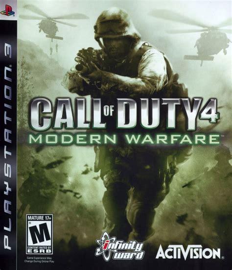 Bd Ps3 Call Of Duty Modern Warfare 3 Cod Mw 3 Mw 3 Call Of Duty 4 Modern Warfare 2007 Playstation 3 Box