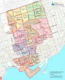toronto real estate district maps central toronto map