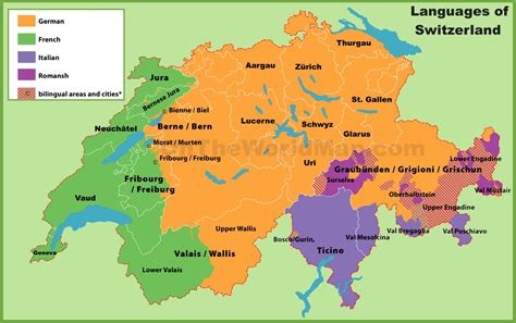 switzerland map languages image gallery locarno switzerland map