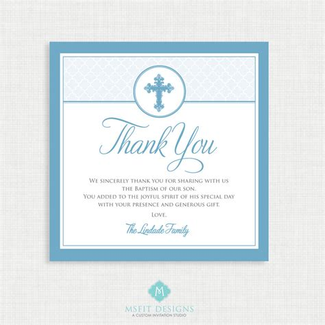 printable christening greeting cards printable baptism thank you card diy printable thank you
