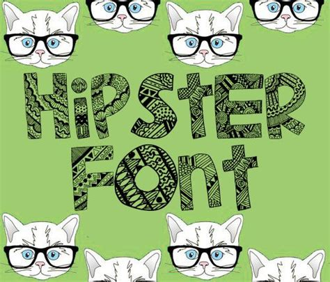 dafont hipster pin by kara j f on sweet free fonts pinterest