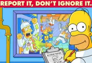 22 simpsons safety posters gallery ebaum s world