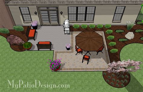 patio layouts simple rectangle patio extension tinkerturf