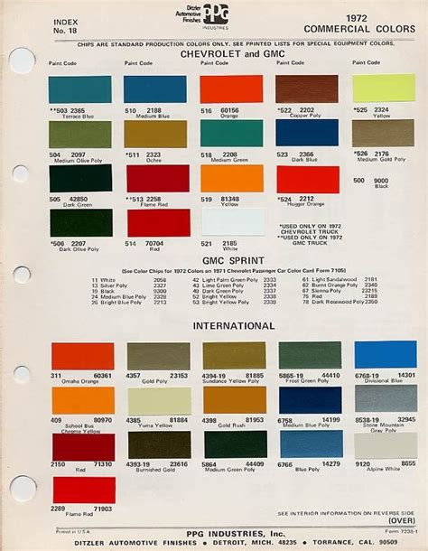 factory blazer colors the 1947 present chevrolet gmc truck message board network chevy
