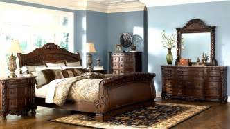 Ashley Bedroom Furniture Sets Bedroom Furniture Discounts Ashley North Shore 6pc Sleigh