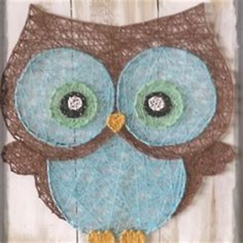 String Owl Template - 1000 images about string craft on string