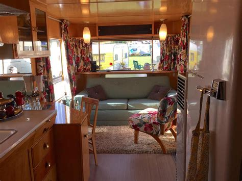 Trailer Interior by Vintage Trailer Restoration Advice From Flyte C