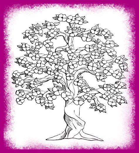 imagenes de rosas hermosas para dibujar imagenes de arboles y flores para colorear imagen de