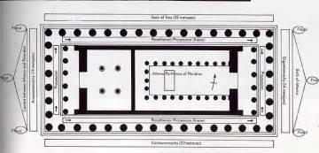 Floor Plan Of Parthenon Parthenon