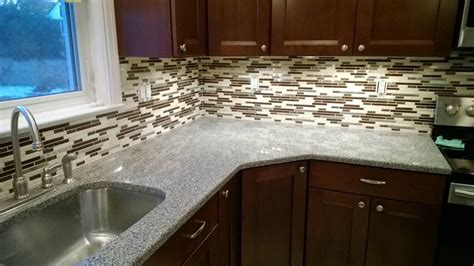 installing kitchen backsplash tile installing glass mosaic tile backsplash the clayton design