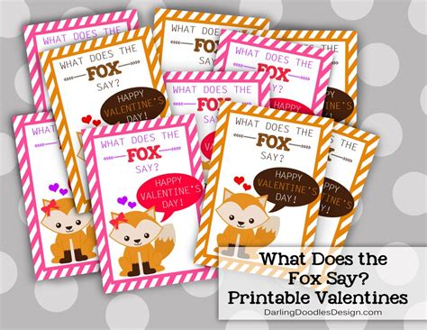 what to say on valentines day here s what the fox says doodles