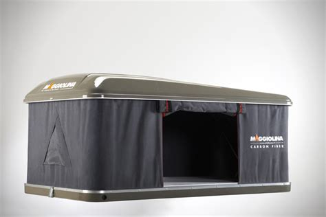 Rooftop Sleeper by Autohome Maggiolina Carbon Fiber Roof Top Cer Tent