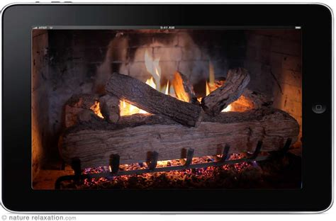 Crackling Fireplace Dvd by Quot Crackling Fireplace Quot Looping Nature Relaxation
