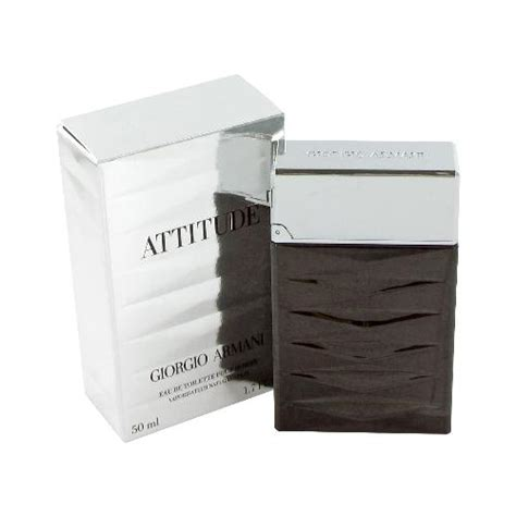 Armanis New Attitude by Giorgio Armani Attitude 50ml Edt Att04 163 34 99 Pharmocare