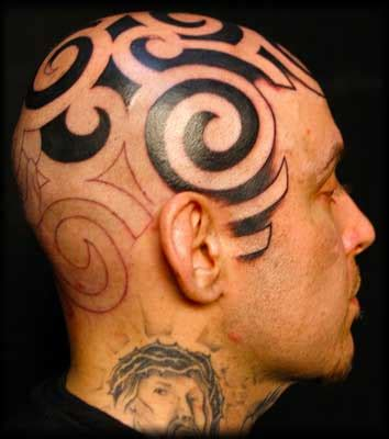 tatuaggi sulla testa tatuaggi tribali il significato e le immagini pi 249