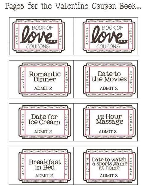 printable love culture coupons 25 best ideas about love coupons for him on pinterest