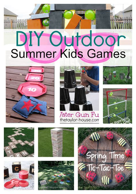 diy games diy outdoor games for kids princess pinky girl