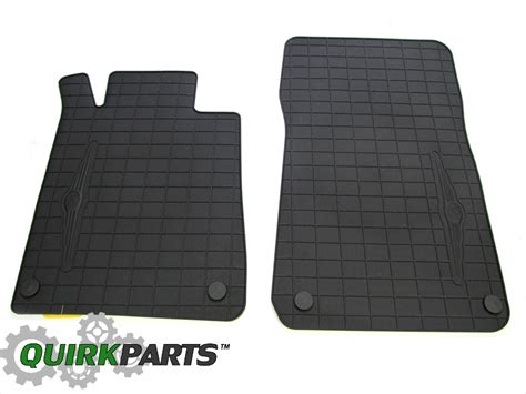 chrysler crossfire floor mats 2005 2008 chrysler crossfire coupe convertible front