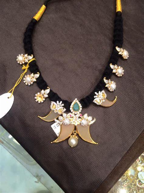 black necklace pattern black dori necklace latest pattern