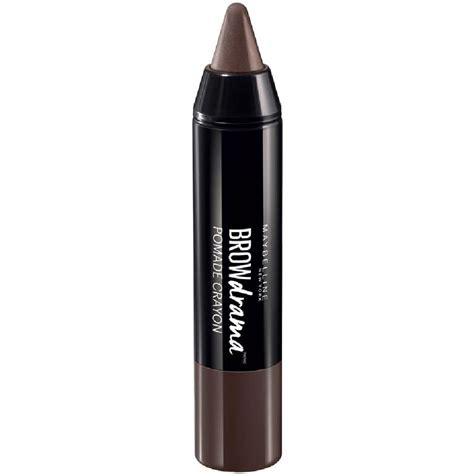Maybelline Eyebrow Pomade maybelline brow drama pomade crayon brown