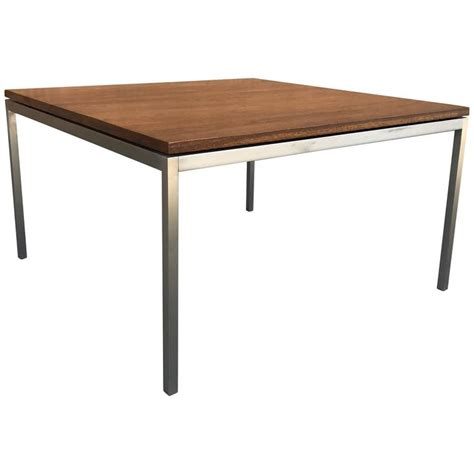 Florence Knoll Coffee Table Floating Walnut Coffee Table By Florence Knoll For Sale At 1stdibs