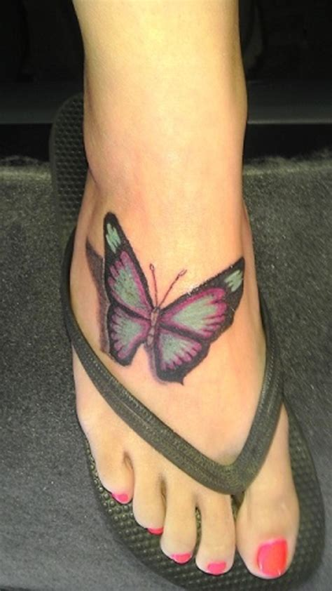 25 Sweet Butterfly Tattoos Creativefan Butterfly Tattoos Designs On Foot
