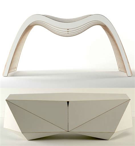 modern organic furniture organic modern furniture made digitally on demand