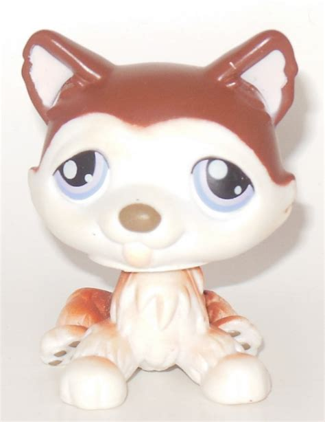 bobblehead husky prestomart littlest pet shop figure husky item