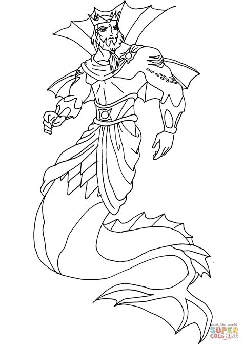 king neptune coloring pages king neptune spongebob coloring pages coloring pages