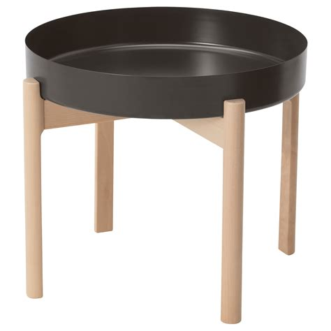 Ypperlig Coffee Table Dark Grey Birch 50 Cm Ikea Coffee Tables Ikea Uk